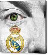 Go Real Madrid Canvas Print