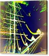 Hopefully We Will Go Sailing Tomorrow Canvas Print