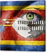 Go Swaziland Canvas Print