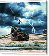 Go Though The Storm Canvas Print