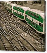 Go Train Canvas Print