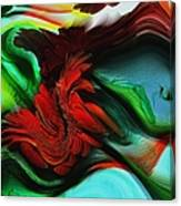 Go With The Flow Abstract Canvas Print