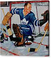 Goaltender Canvas Print