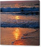 Goan Sunset. India Canvas Print