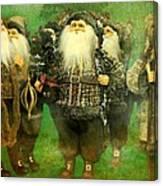 God Rest Ye Merry Gentlemen Canvas Print
