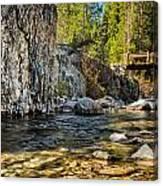 Goddard Canyon Canvas Print