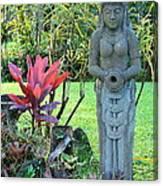 Goddess Bhudevi Mother Earth Canvas Print
