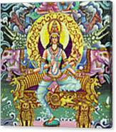 Goddess Of Asia Canvas Print