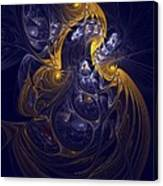 Goddess Of Healing Energy Canvas Print
