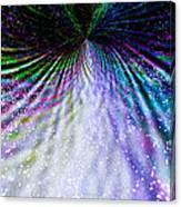 Goddess Stardust Creating Butterfly Canvas Print