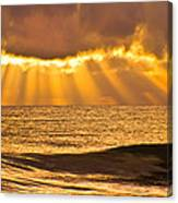 God's Eyelashes Canvas Print