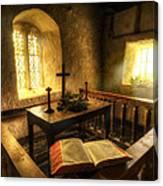 God's Holy Light Canvas Print