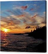 God's Morning Painting Canvas Print