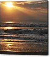 God's Rays Canvas Print