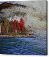 Goff Point Fog Canvas Print