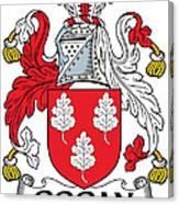 Gogan Coat Of Arms Irish Canvas Print