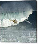 Going Left At Jaws Canvas Print