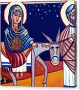 Going To Bethlehem Canvas Print