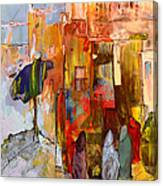 Going To The Medina In Morocco Canvas Print