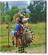 Going To The Pow Wow Canvas Print