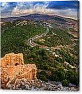 Golan Heights Canvas Print