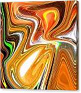 Gold 3 Canvas Print
