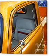 Gold 54 Chevy Truck Canvas Print