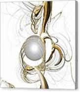 Gold And Pearl Canvas Print