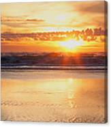 Gold Bluff Sunset Canvas Print