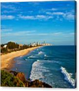 Gold Coast North Canvas Print