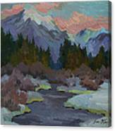 Gold Creek Snoqualmie Pass Canvas Print