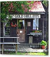 Gold Hill Post Office Canvas Print