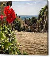 Gold Hill Shaftesbury Canvas Print