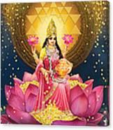Gold Lakshmi Canvas Print