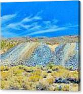 Gold Mine Tailings Canvas Print