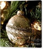 Gold Ornament Canvas Print
