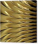 Gold Ridges Canvas Print