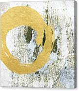 Gold Rush - Abstract Art Canvas Print