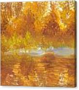 Gold Serenity  Canvas Print
