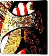 Gold Shoe Canvas Print