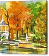 Golden Autumn Day Canvas Print