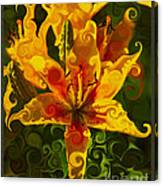 Golden Beauties Canvas Print