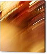 Golden Blur Canvas Print