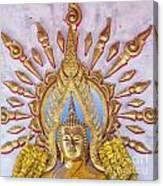 Golden Buddha Statue Canvas Print