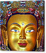 Golden Buddha Canvas Print