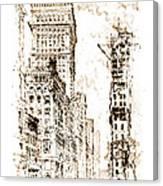 Golden Cornice 1904 Canvas Print