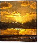 Golden Dawn - Canvas Canvas Print