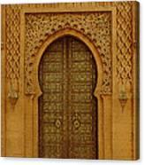 Golden Door Canvas Print