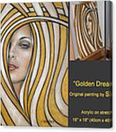 Golden Dream 060809 Comp Canvas Print