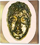 Golden Face From Degas Dancer Canvas Print
